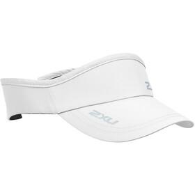 2XU Run Visor white/white